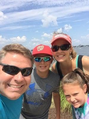 Joe Moore Family Photo 2019