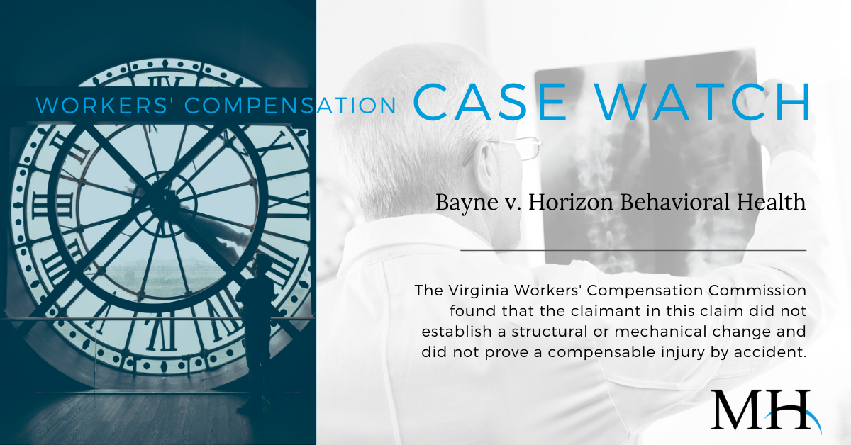 Workers Compensation Case Watch Image_No Stuctural Change_week of November 21 2019