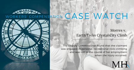Workers Compensation Case Watch Image_Rock-Climbing_week of Janaury 16  2020