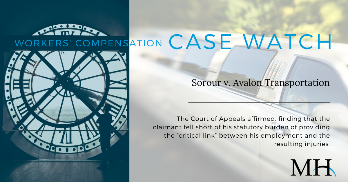 Workers Compensation Case Watch Image_Limousine Crash_week of December 20 2019 (1)